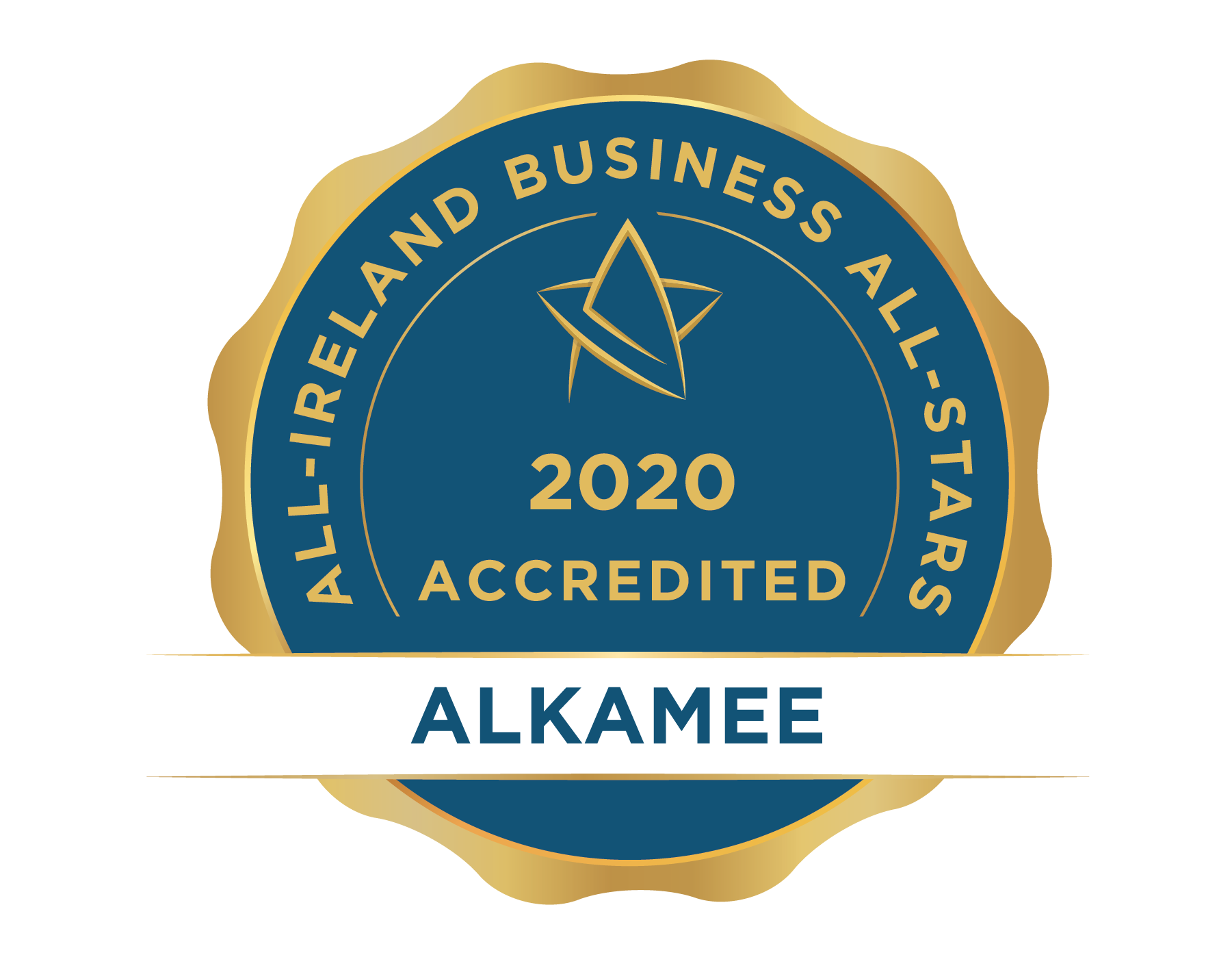 Alkamee 20  20All Ireland 20Business 20All Stars 20Accredited 20  20seal 01